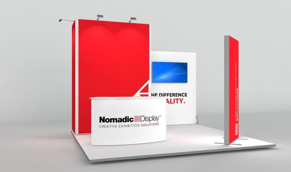Kopfstand NOMADIC DISPLAY – 4m x 4m