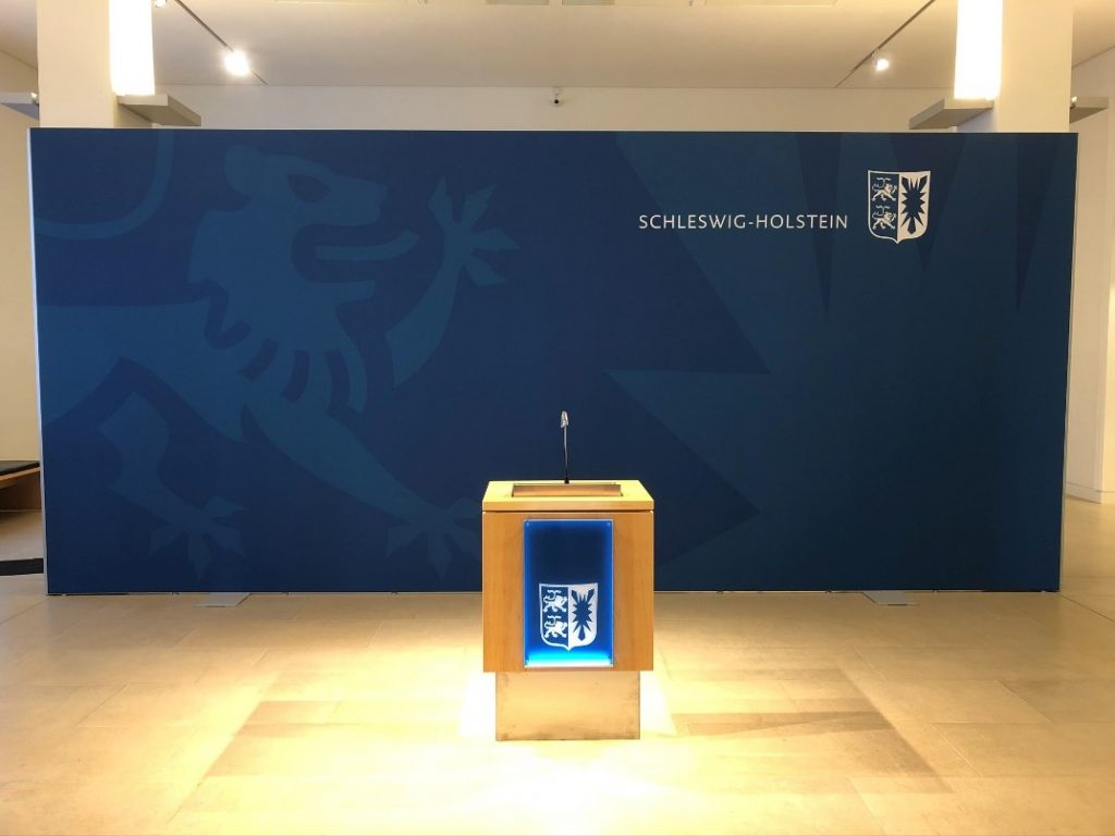 Pressewand Landtag